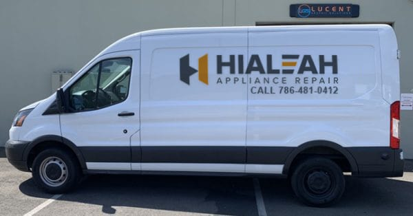 appliance service van in hialeah fl